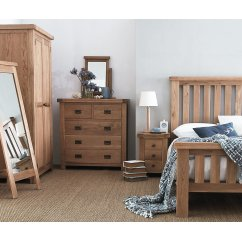 montreux oak bedroom collection