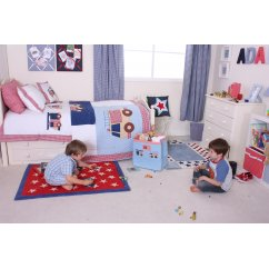 firetrucks boys bedding range