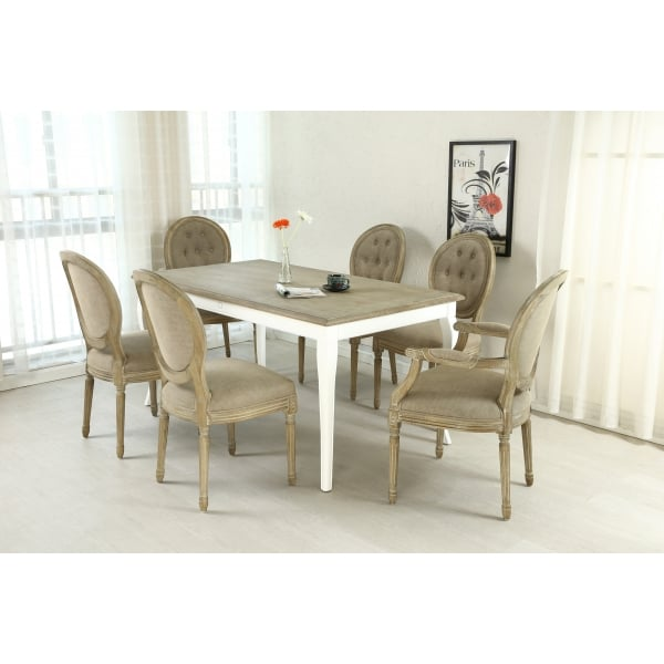 Shankar Louis grande upholstered dining