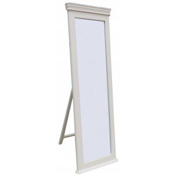 Emporium home Bella painted white cheval mirror