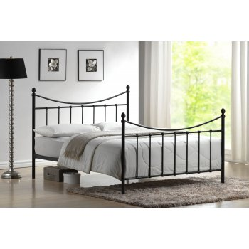 Time living Alderley black victorian style metal bedframe