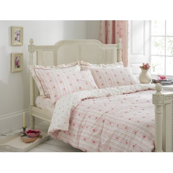 Helena springfield Camille pink vintage reversible duvet cover