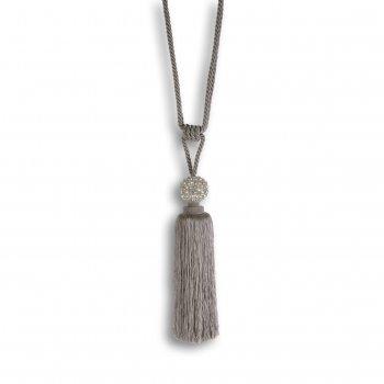 Riva paoletti Crystal ball silver diamante crystal tieback