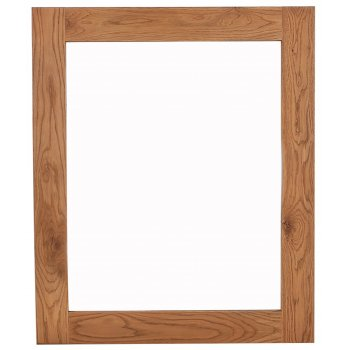 Emporium home Montreux solid oak large wall mirror