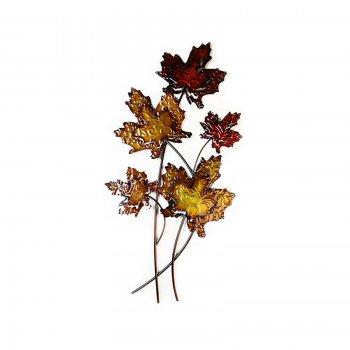 Novus imports Autumn leaf handmade wallart