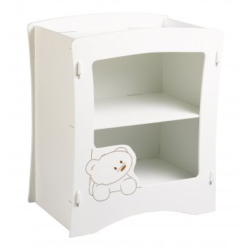 Kidsaw Cub nursery changer white painted