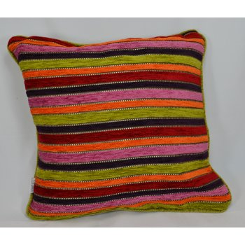 Style furnishings Spectrum multi 43cm x 43cm cushion cover