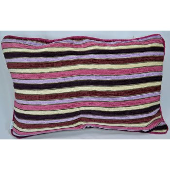 Style furnishings Spectrum pink 60cm x 40cm rectangle cushion cover