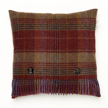 Bronte Huntingtower mulberry feather filled cushion 40cm