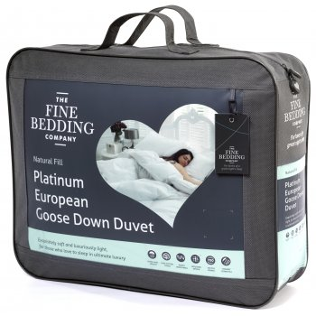 Fine bedding Platinum european goose down 13.5 tog duvet