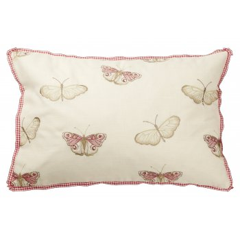Iliv Vintage butterfly chintz feather filled cushion 60cm x 40cm