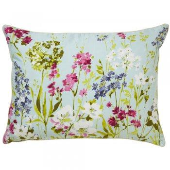 Iliv Meadow seafoam floral feather filled cushion 60cm x 40cm