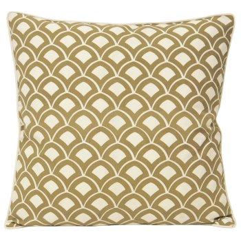 Riva paoletti Ionia driftwood scallop cushion cover 50cm