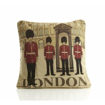 Alan symonds London Guards Tapestry Cushion Cover 45cm