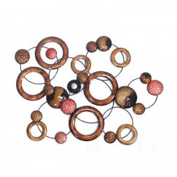 Novus imports Abstract Planets Cluster Wall Art
