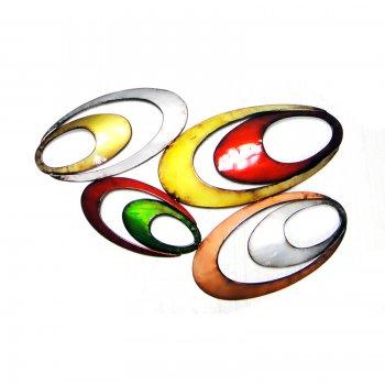 Novus imports Coloured Ovals Wall Art