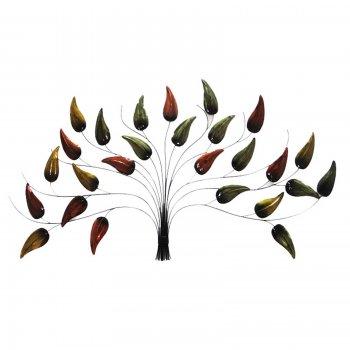 Novus imports Autumn Tear Drop Tree Wall Art