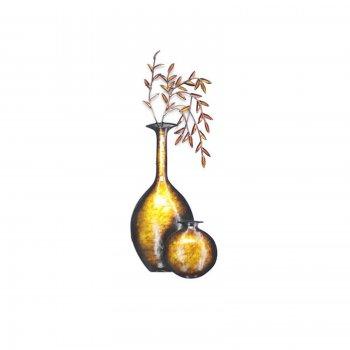 Novus imports Dried Flower Vase Wall Art