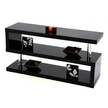 Mfs furniture Miami black gloss tv stand
