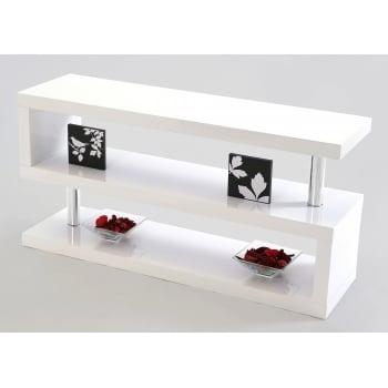 Mfs furniture Miami white gloss tv stand