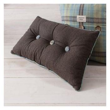 Kilburn and Scott Button duckegg accessory oblong cushion
