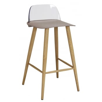 Lpd furniture Chelsea stone bar stool (pair)
