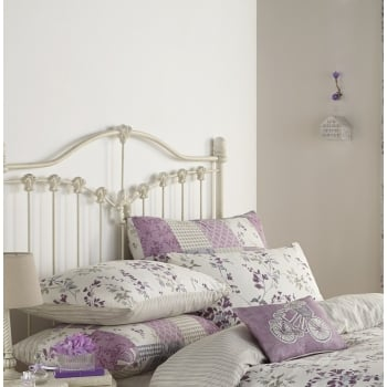 Dreams n drapes Lila lilac vintage pillowcase pair