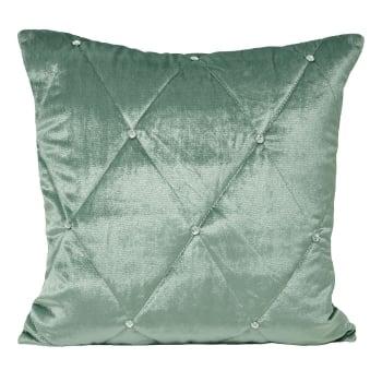 Riva paoletti Diamante duckegg velvet cushion cover, 45cm