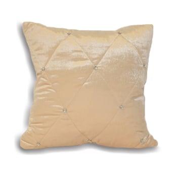 Riva paoletti Diamante cream velvet cushion cover, 55cm
