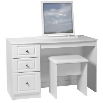 Sen furniture Kempton white dressing table mirror