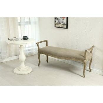 Shankar Louis grande upholstered bench