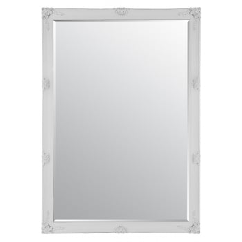 Mirror outlet Abbey white ornate mirror, 170 x 109cm