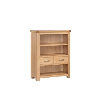 Annaghmore Treviso Oak Low Bookcase