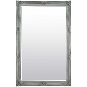 Mirror outlet Abbey silver ornate mirror, 170 x 109cm