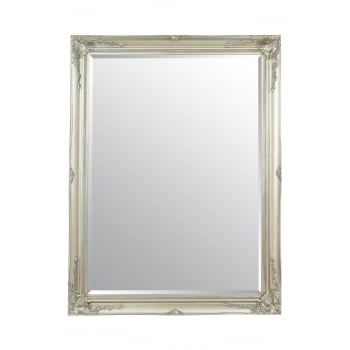 Mirror outlet Buxton silver ornate mirror 140 x 109cm