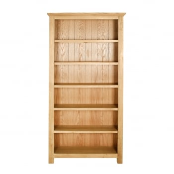 Loma living Fencott solid light oak large bookcase
