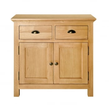 Loma living Fencott solid light oak small sideboard
