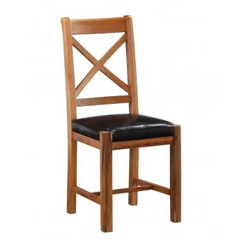 Annaghmore Oakridge cross back dining chair