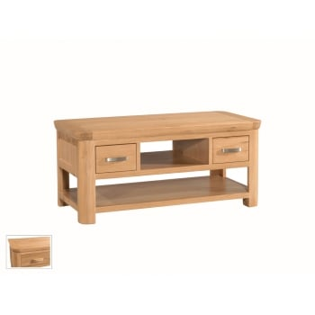 Annaghmore Treviso oak standard coffe table