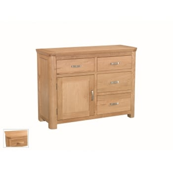 Annaghmore Treviso oak small sideboad