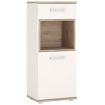 Furniture to go 4kids One door one drawer narrow cabinet