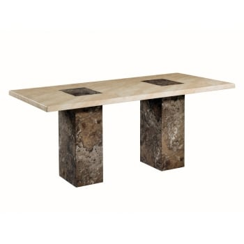 Annaghmore Sorrento marble 180cm dining table