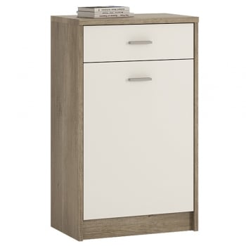 Furniture to go 4 You one drawer one door cupboard in canyon grey/pearl white