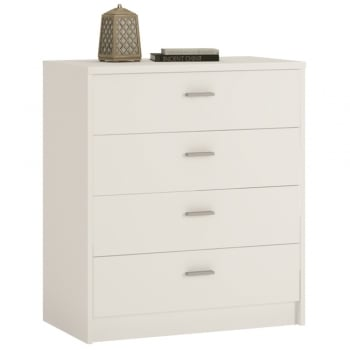 Furniture to go 4 You pearl white four drawer chest