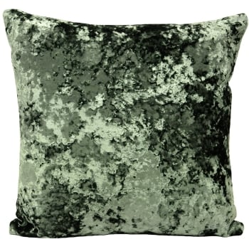 Riva paoletti Roma verdi crushed velvet cushion cover, 50cm