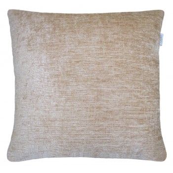 Style furnishings Maurice Caramel chanille cushion cover 43cm