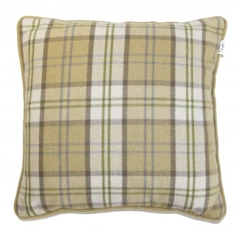Style furnishings Lewis mustard piped cushion cover, 43cm