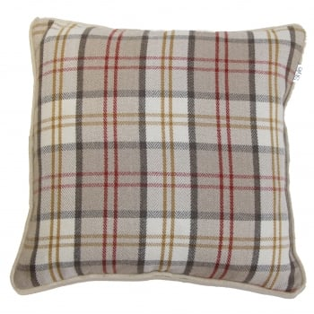 Style furnishings Lewis natural cushion cover, 55cm