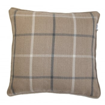 Style furnishings Mull latte cushion cover, 60cm