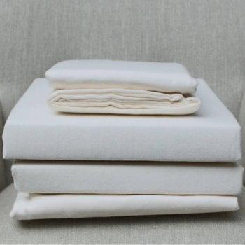 Dormisette Premium Brushed cotton flannelette sheets - cream